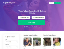 Free sugar daddy dating site in usa 2019